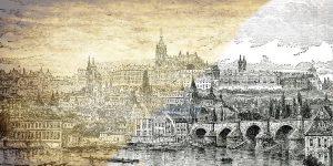 Historische Bilder: Stadtansichten und Landschaften