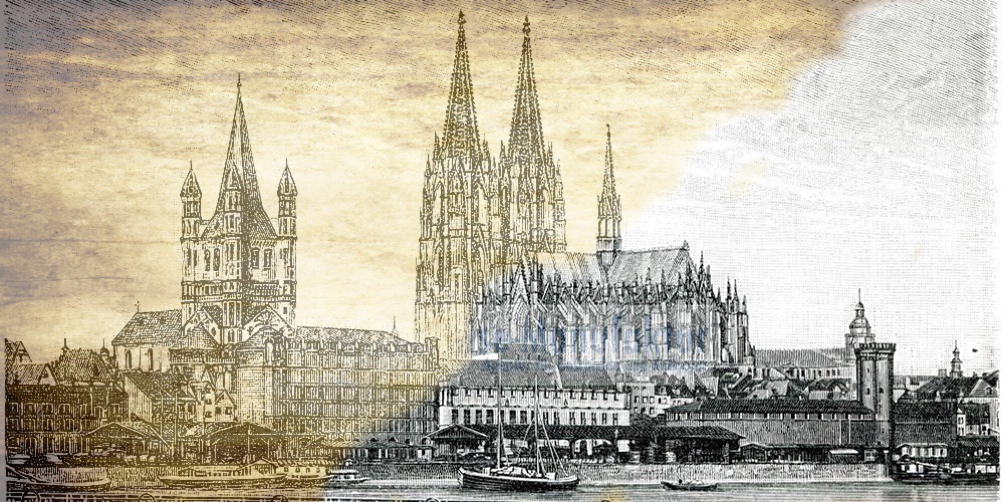 Historische Bilder: Sakralbauten und Profanbauten