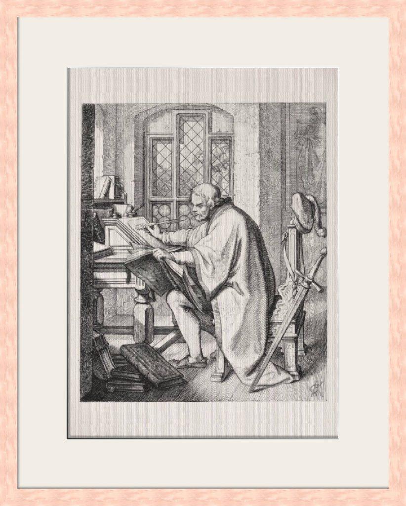 Martin Luther Übersetzung der Bibel - Historienbilder